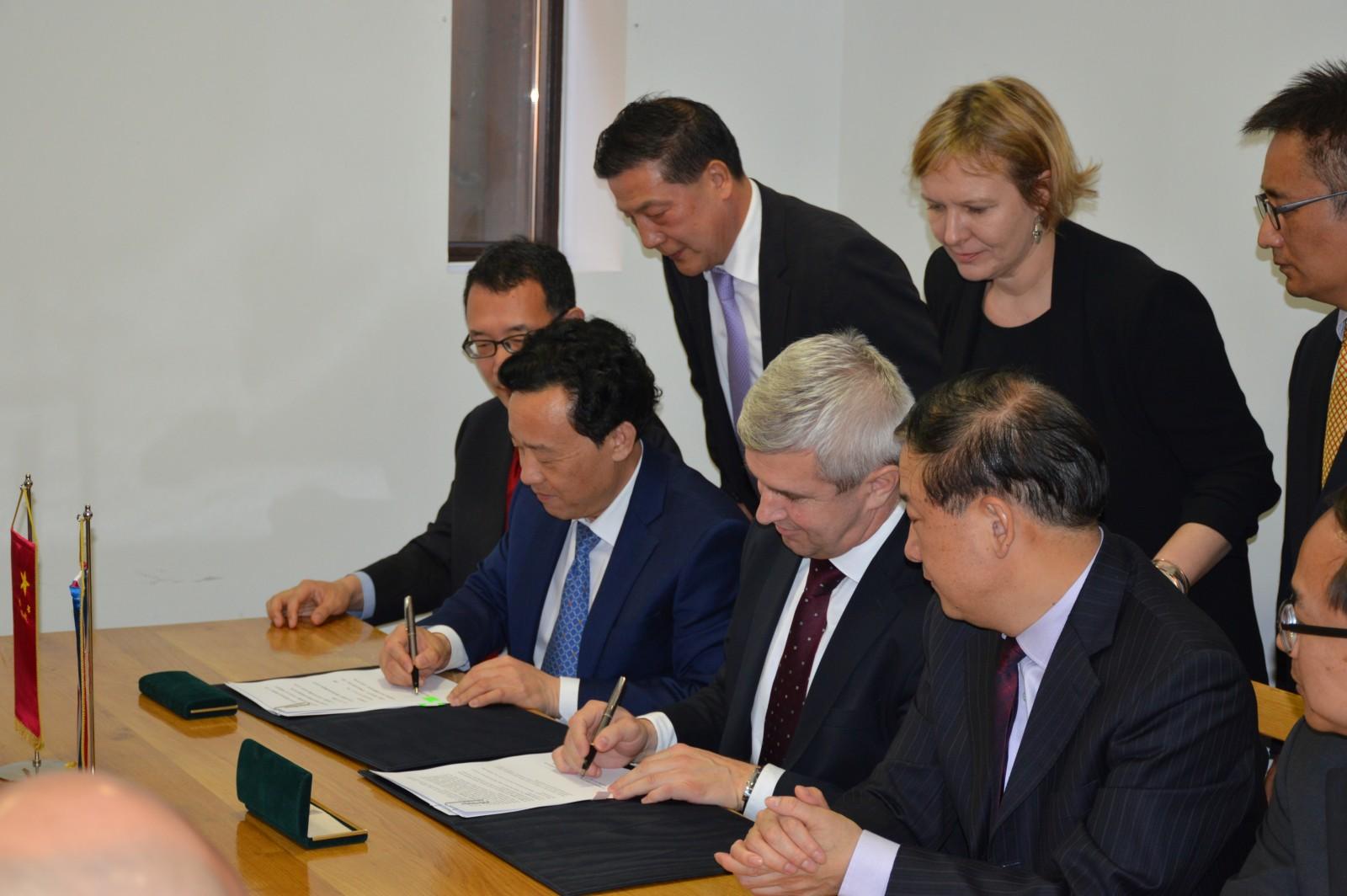 Gudovac, 31.03.2017. Potpisivanje Akcijskog plana MP i MP Kine